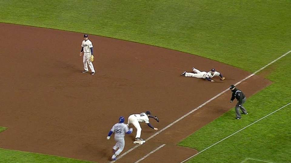 Dozier's great play