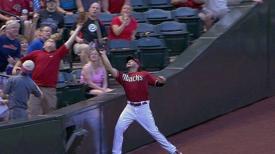 Ross' nice catch