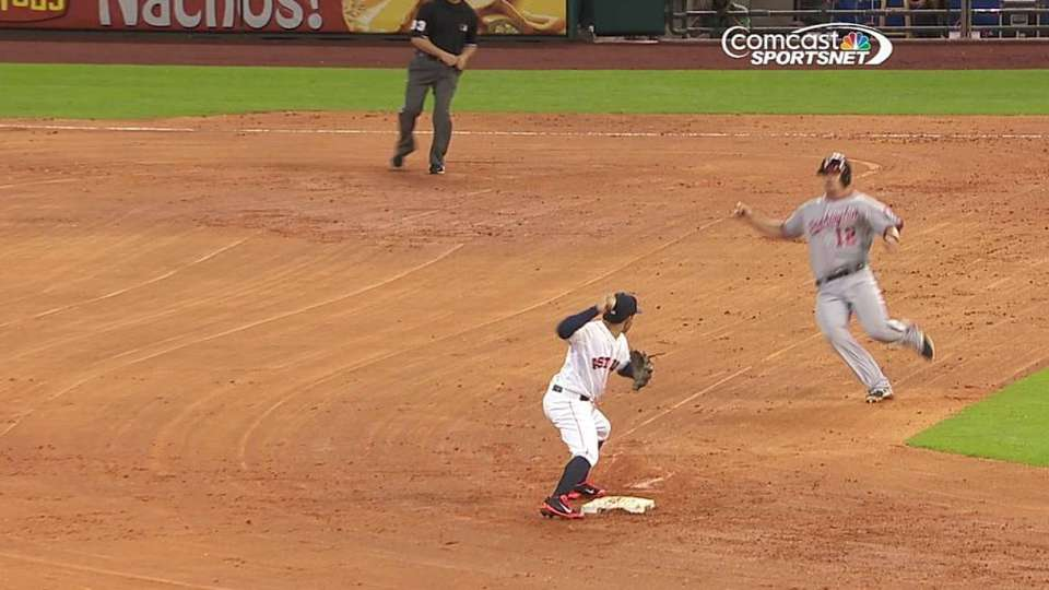 Oberholtzer gets double play