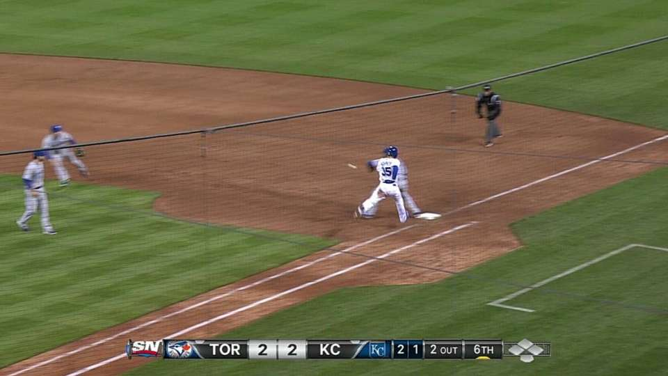 Getz's charging play