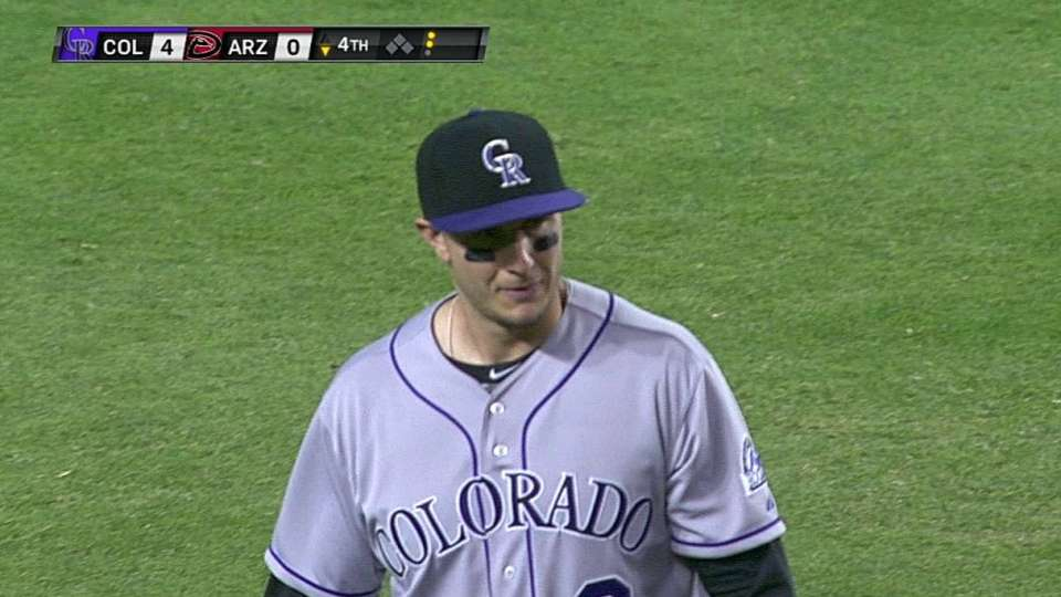 Tulo catches liner at short