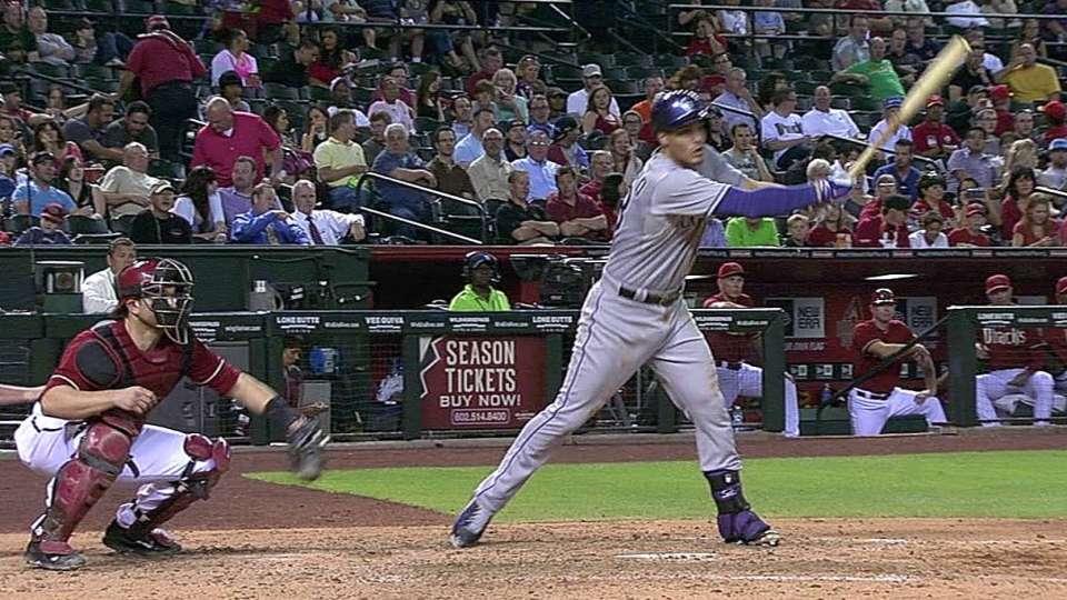 Arenado extends hitting streak