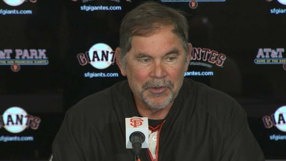 Bochy on Hudson's great start