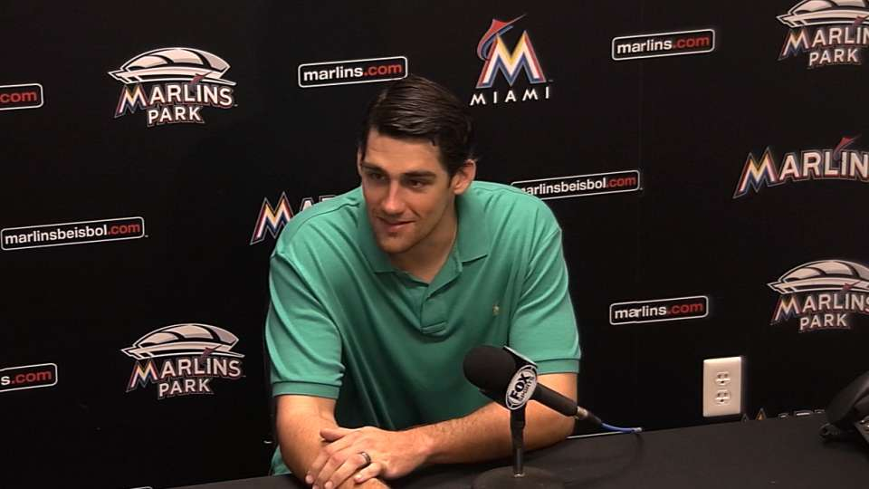 Eovaldi on his outing vs. Braves