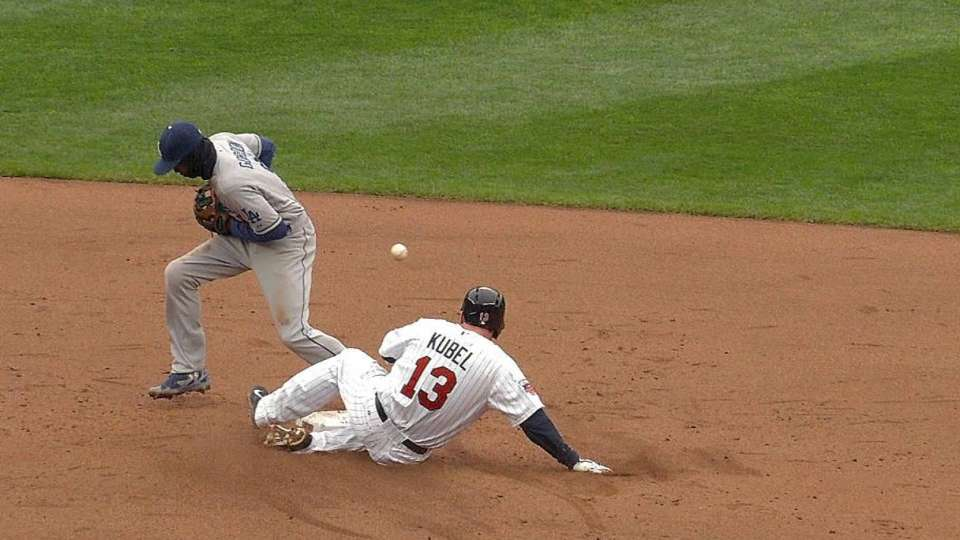 Twins challenge, call overturned