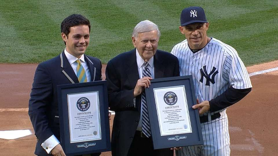 Bob Wolff honored in Bronx