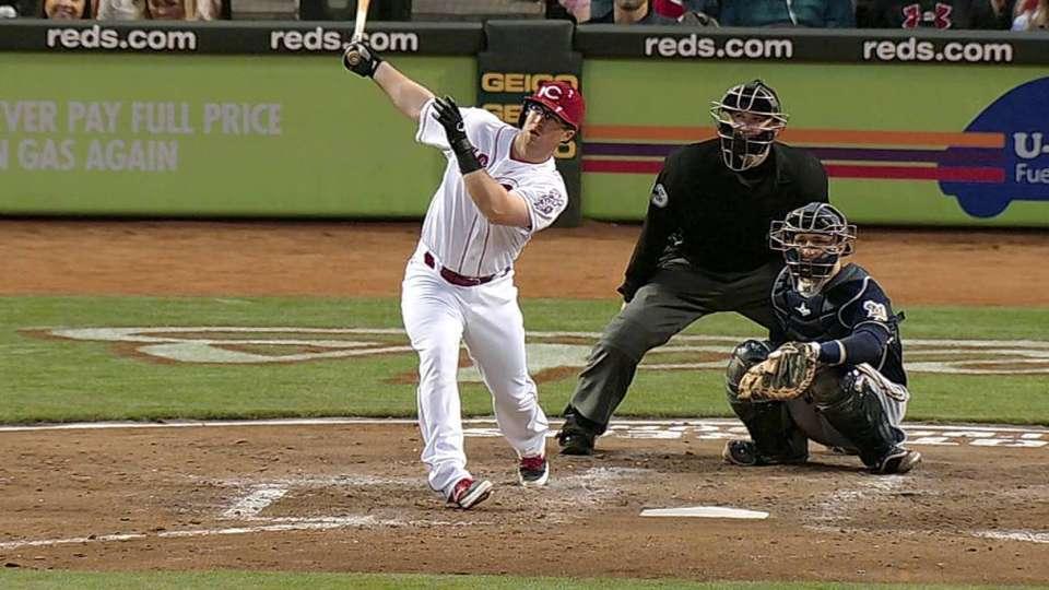 Barnhart's first career home run