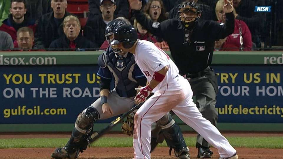 Victorino's RBI hit-by-pitch