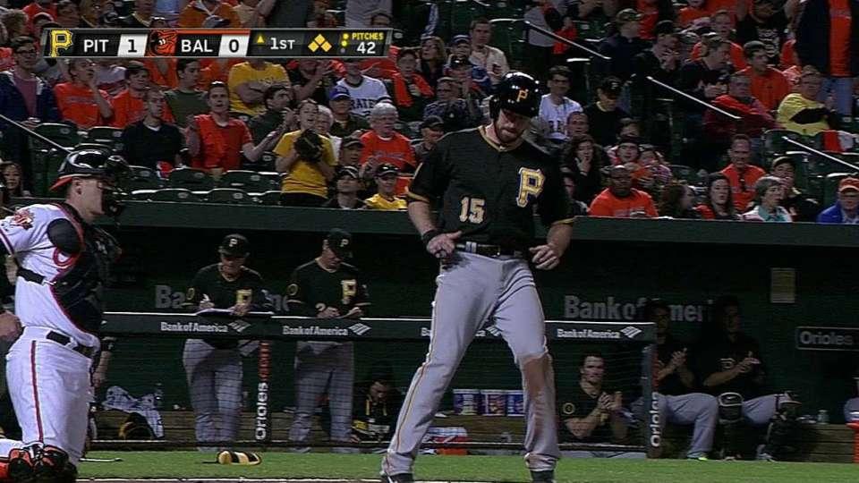 Walker's bases-loaded walk