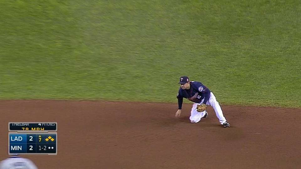 Dozier's phenomenal catch