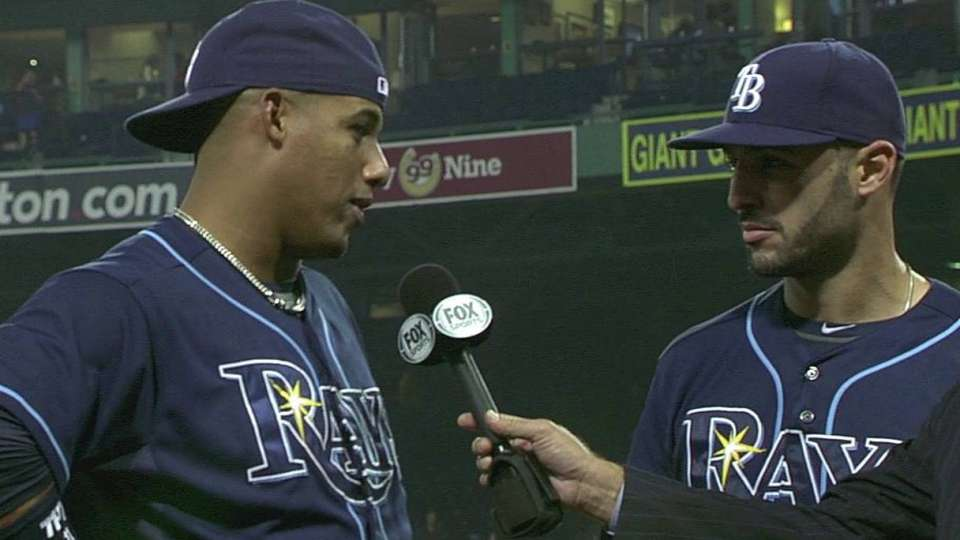 Rodriguez and Escobar on win