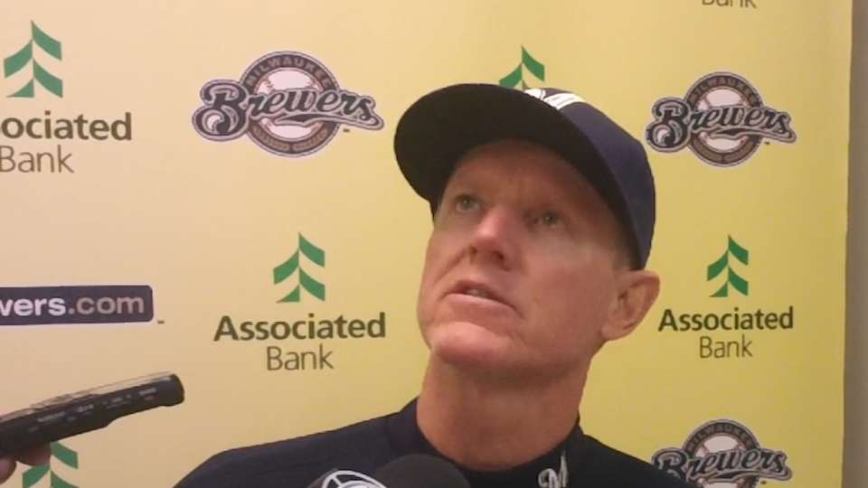 Roenicke on loss to Reds