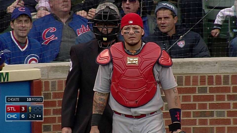 Molina's heads-up play