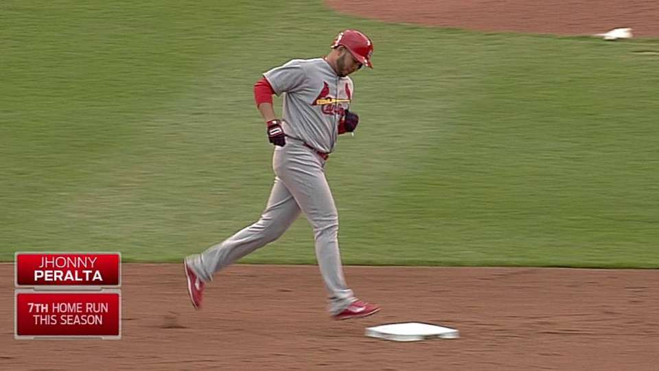 Peralta's two-run shot