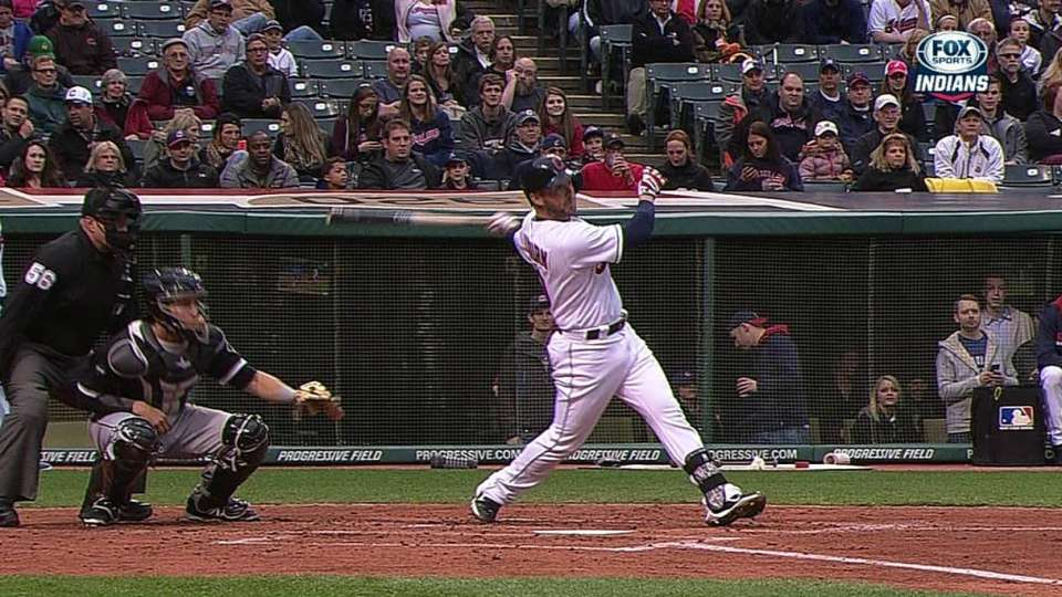Raburn's two-run single