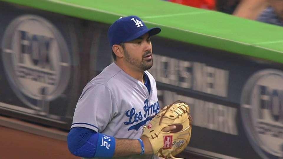 Gonzalez's nice grab