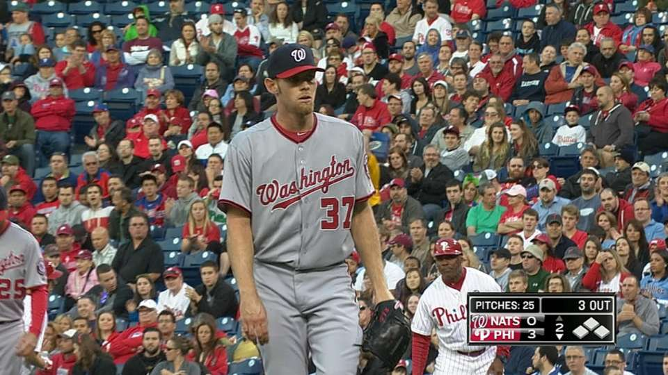 Strasburg's solid outing