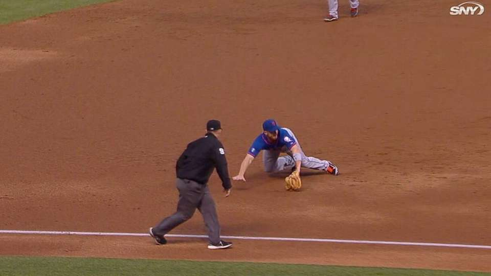 Wright's diving stop