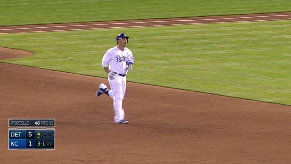 Butler's line-drive home run