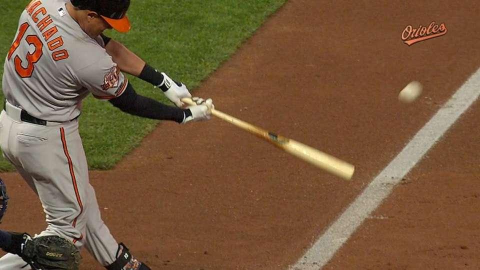 Machado's first hit