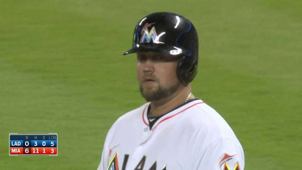 McGehee's RBI bloop single