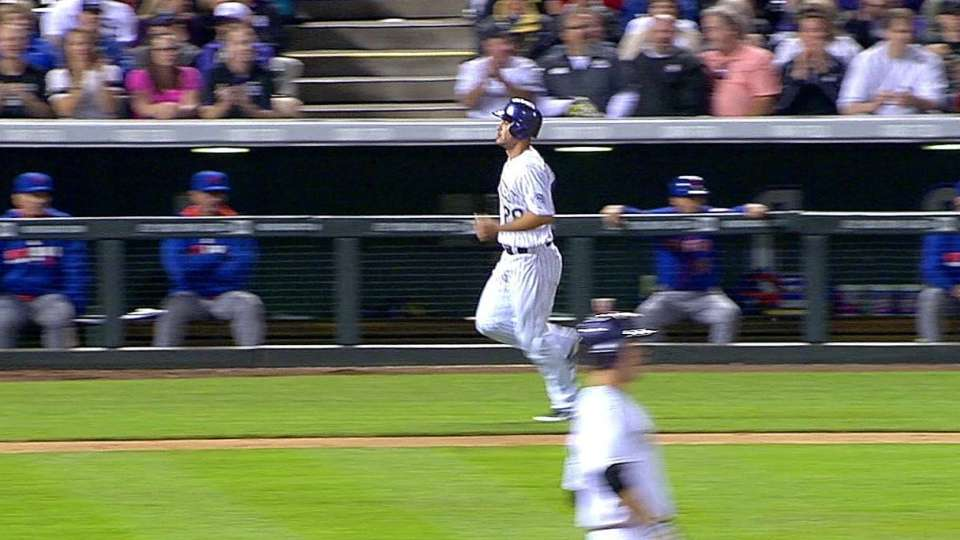 Morneau's run-scoring single