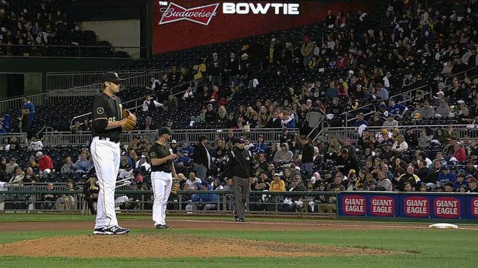 Sadler's MLB debut