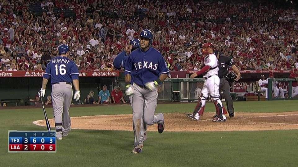Rios' two-run homer