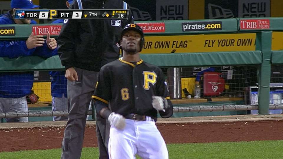 Marte's four-hit game