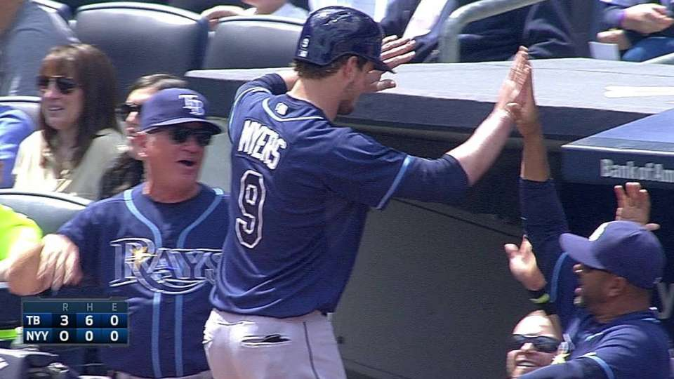 Myers' solo homer