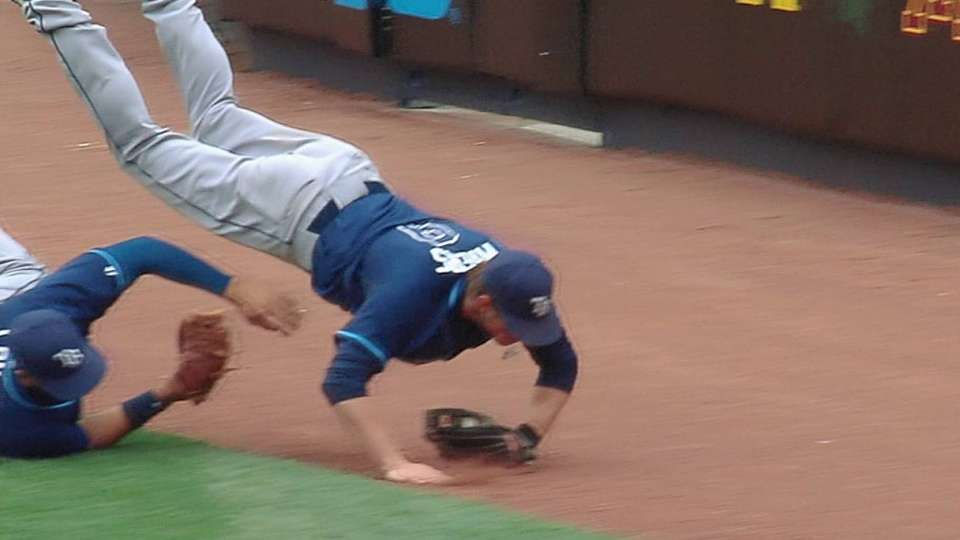 Myers' tumbling catch