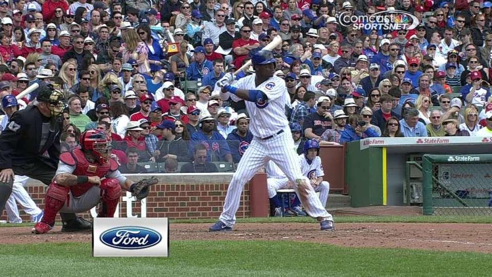 Lake's two-run homer