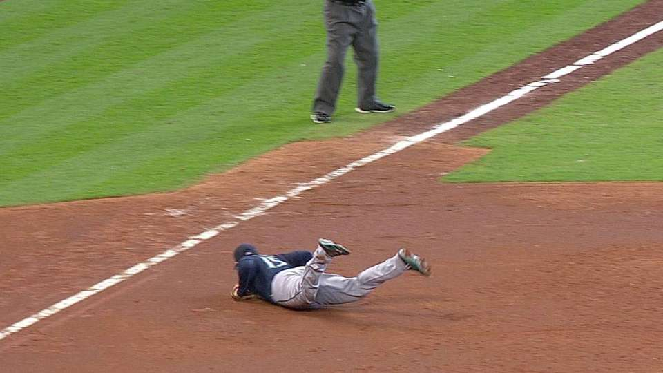 Seager's diving catch