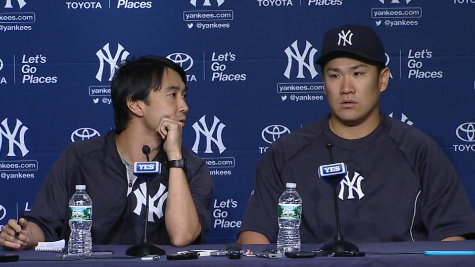 Yanks on win over Rays