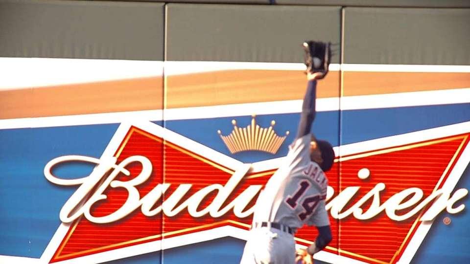 Jackson's great catch