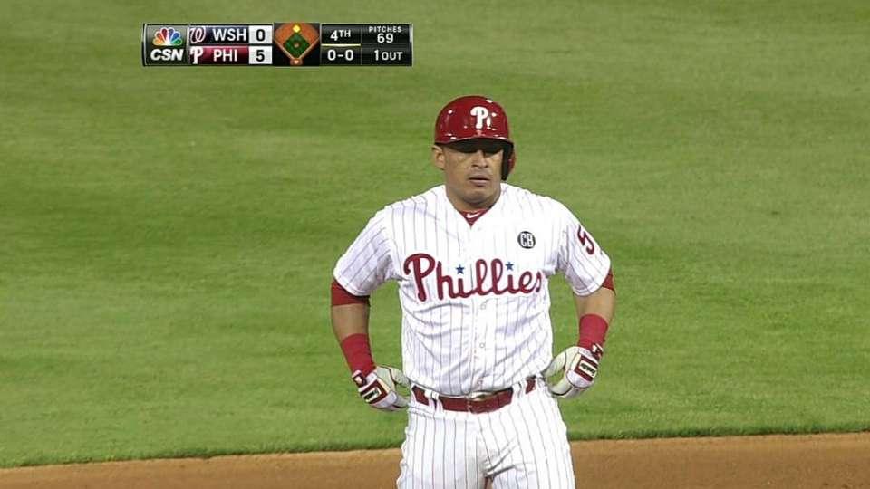 Ruiz's RBI double