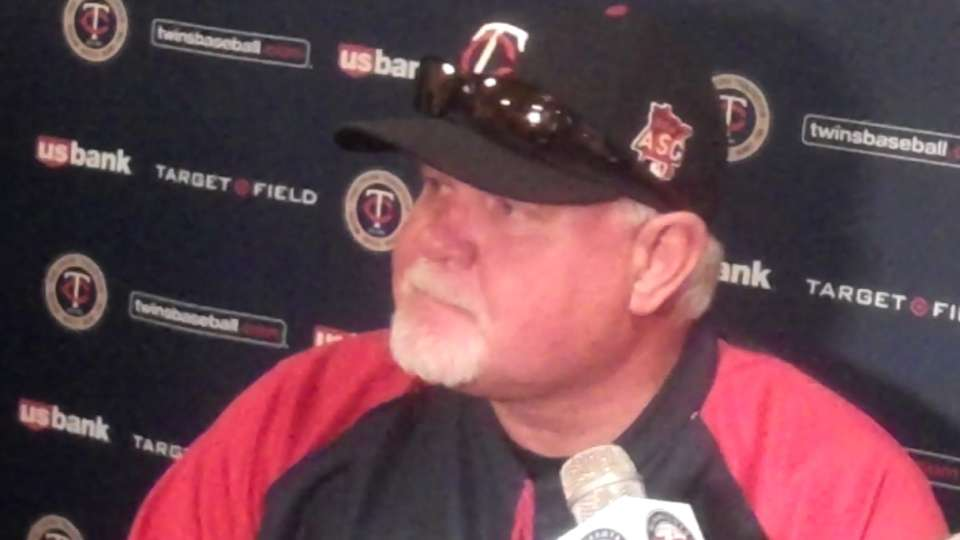 Gardenhire on Mauer's big game