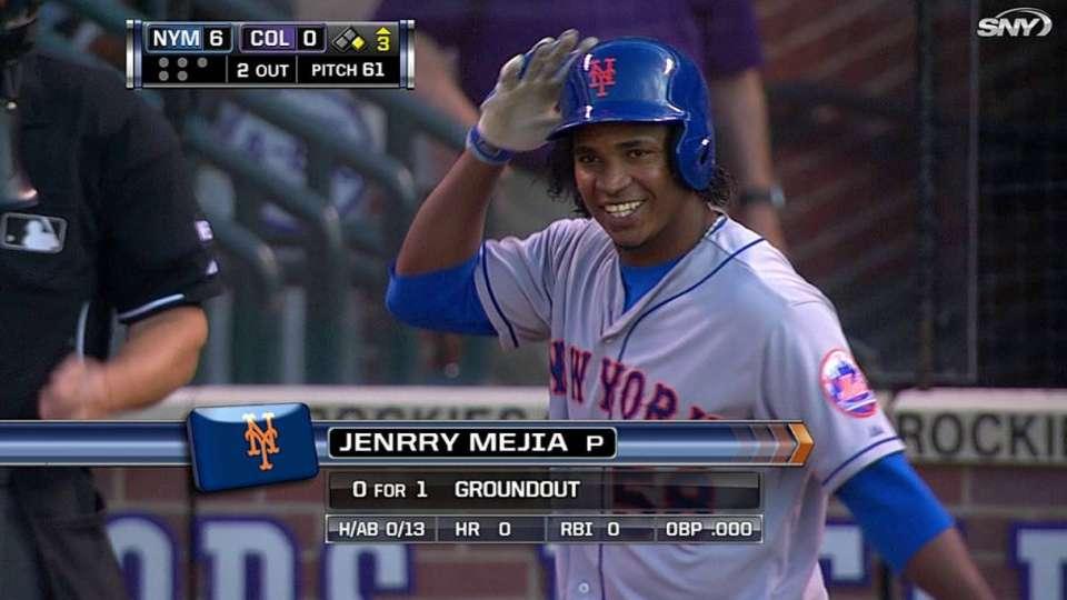 Mets' pitchers set dubious mark