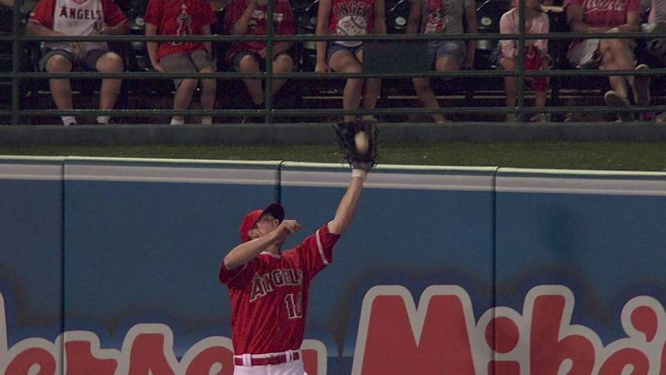 Green's leaping catch