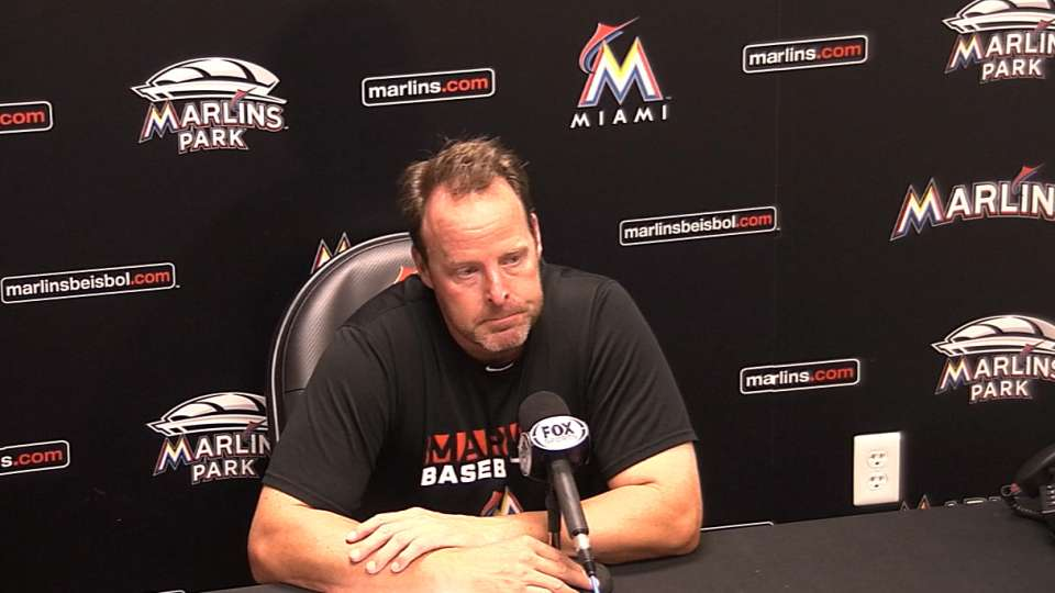 Redmond on close loss to Dodgers
