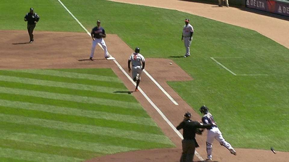 Schoop out on interference