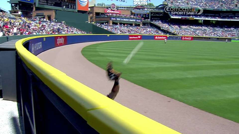 Morse's leaping catch