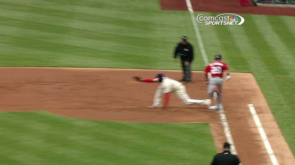 Philles challenge safe call