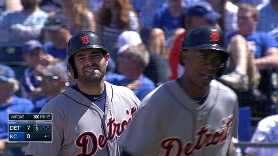 Avila's two-run homer