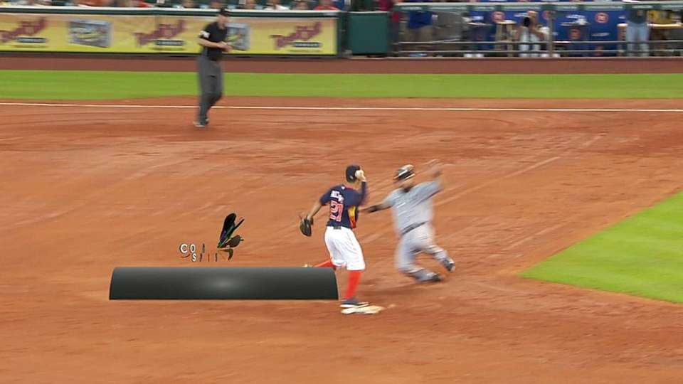 Astros turn two