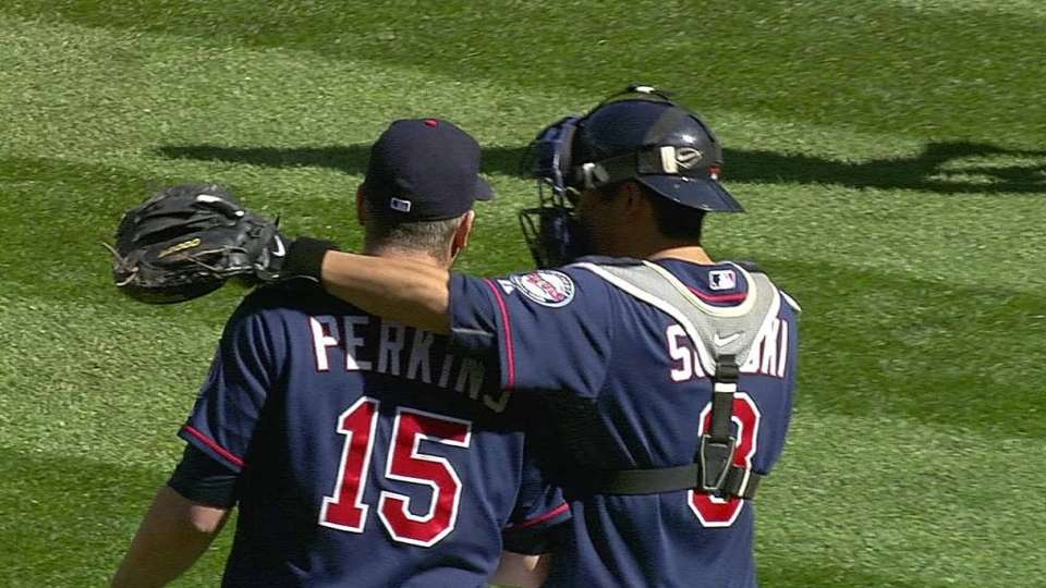 Perkins gets the save