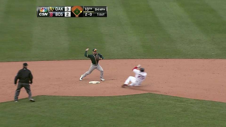 Lowrie turns two to end it