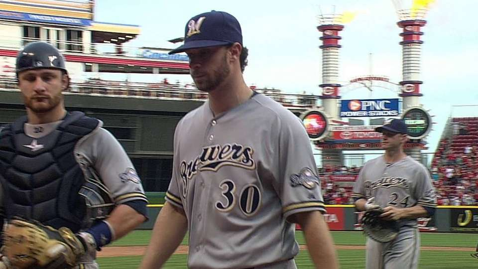 Brewers fall in extras