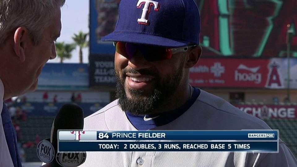 Prince on his big offensive game