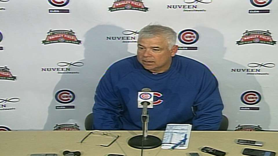 Renteria on Cubs' 5-4 loss